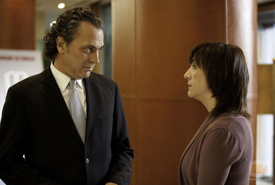 Blanca Portillo y José Coronado en 'Acusados'