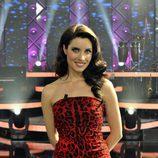 Pilar Rubio, de rojo leopardo