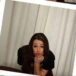 Lea Michele en el fotomatón