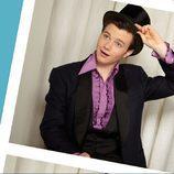 Chris Colfer con sombrero