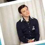 Chris Colfer en el fotomatón de 'Glee'