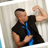 Mark Salling enseña músculos