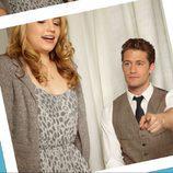 Dianna Agron y Matthew Morrison de 'Glee'
