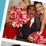 Iqbal Theba, asustado por las animadoras de 'Glee'