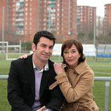 Arturo Valls y Blanca Apilánez