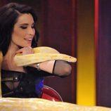 Pilar Rubio con una serpiente