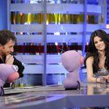 Selena Gomez con Pablo Motos