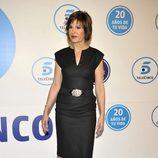 Concha García Campoy en la gala de Telecinco