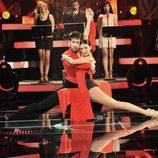 Juan García baila un tango en 'MQB'