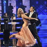 Edurne baila un vals de Blancanieves en 'MQB'