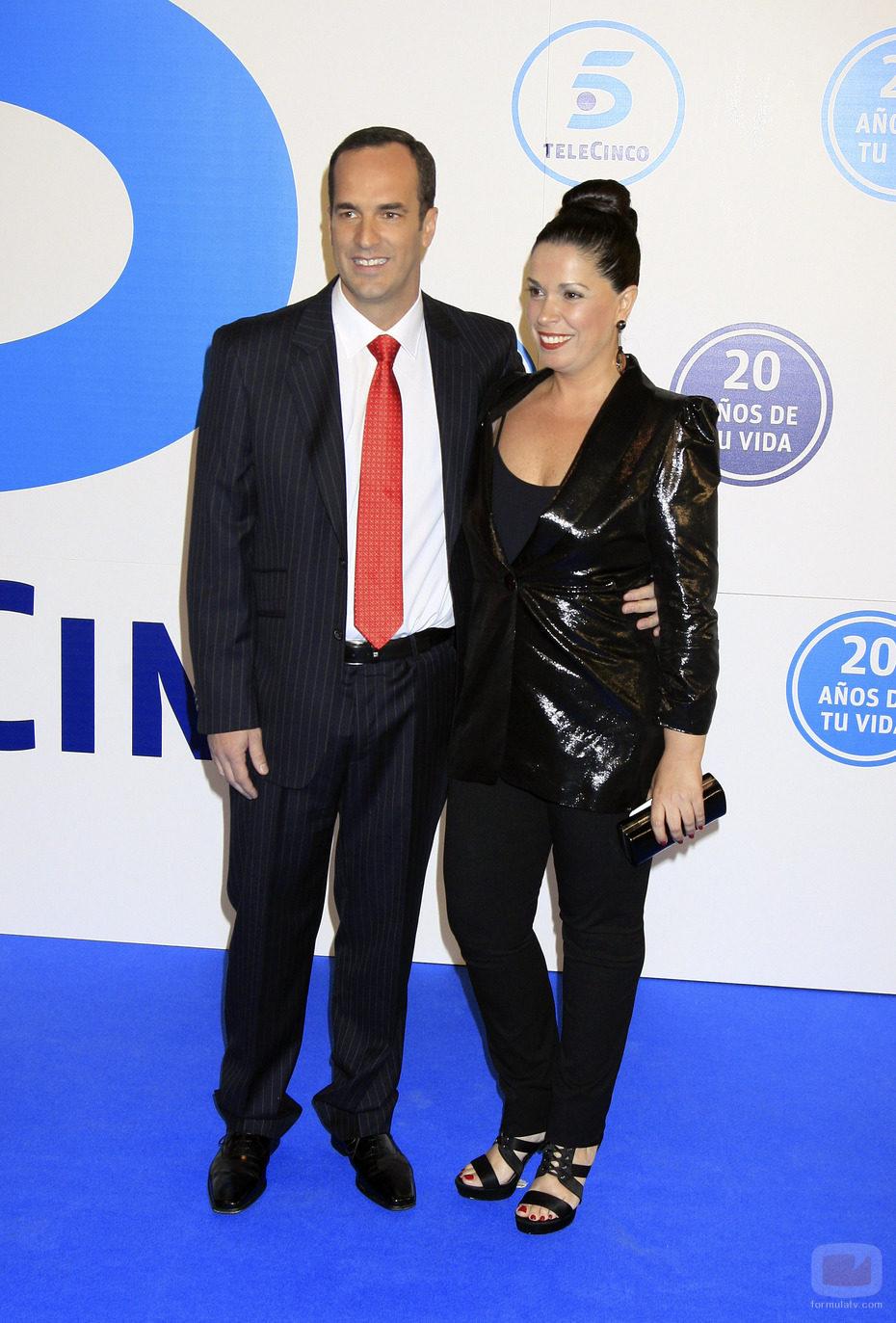 Santi Acosta y Sandra Fernández