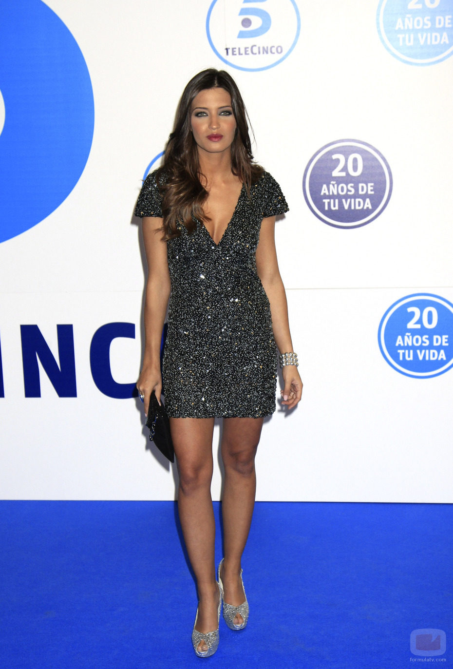 Sara Carbonero en la gala de Telecinco