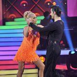 Belén Esteban baila un 'cha-cha-chá' en 'MQB'
