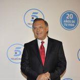 Pedro Piqueras en la gala de Telecinco