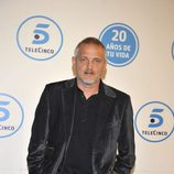 Jordi Rebellón en la gala de Telecinco