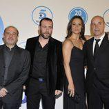 'Los Serrano', en la gala 20 años de Telecinco