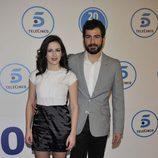 Ruth Núñez y Alejandro Tous en la gala de Telecinco
