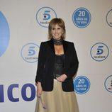 Merces Milá en la gala de Telecinco