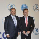 Tito Valverde y Manuel Campo Vidal