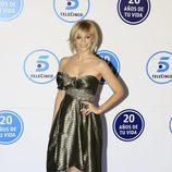 Norma Ruiz en la gala de Telecinco