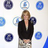Esperanza Aguirre celebra los 20 años de Telecinco