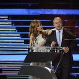Emma García y Tito Valverde