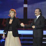 Mercedes Milá y José Coronado