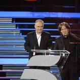 Javier Sardá y Carlos Latre
