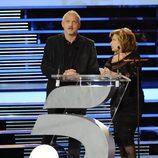 Jordi Rebellón y María Teresa Campos