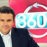 Roberto Arce es el presentador de '360 grados' en Antena 3