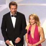 Hugh Laurie y Felicity Huffman