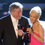Christina Aguilera y Tony Bennett