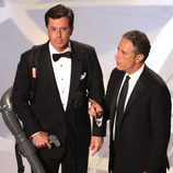 Stephen Colbert y Jon Stewart