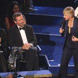 Hugh Laurie y Ellen DeGeneres