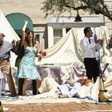 Fiesta de 'Matriarca' en 'Cinco hermanos'
