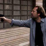 Un hombre con una pistola en 'Karabudjan'