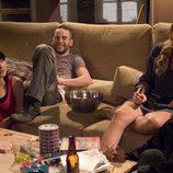 Dani, Amaya, Goyo y Lis fumando cannabis
