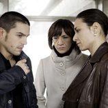Blanca Portillo, Alejo Sauras y Anna Allen