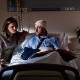 Miguel en el hospital en 'Todos ocultan algo'