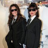 Esti Gabilondo e Irene Moreno con las gafas de 'CQC'