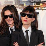 Esti Gabilondo e Irene Moreno, de 'CQC'