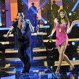 Helen Lindes baila una salsa en 'MQB'