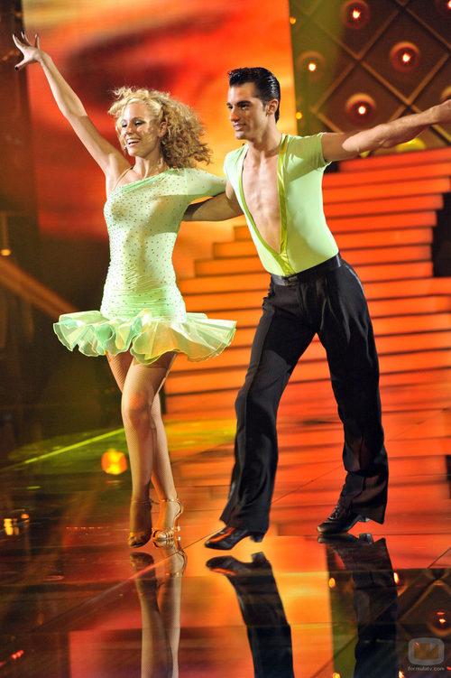 Edurne baila samba en 'MQB'
