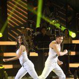 Juan García baila un urban-dance en 'MQB'