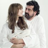 Paco y su hija Sara en 'Los hombres de Paco'