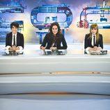 Las presentadoras de 'CQC' en plató