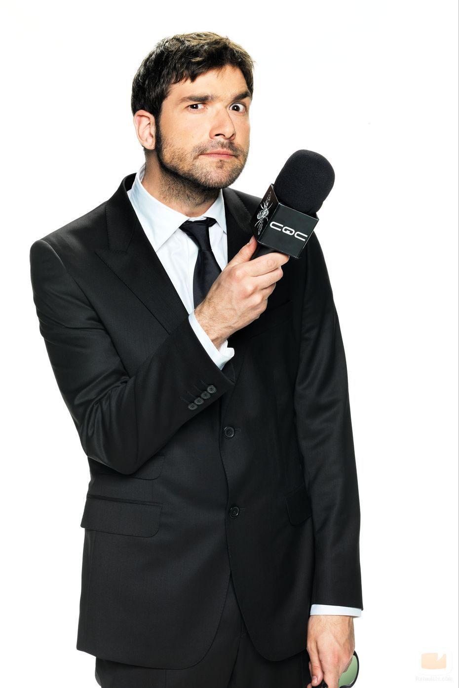 Nacho García, reportero de 'CQC'