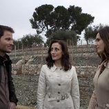 Fernando Andina, Carme Elías y Claudia Bassols