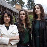 Las hermanas Elizondo en 'Gavilanes'