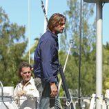 Sawyer espera en el barco